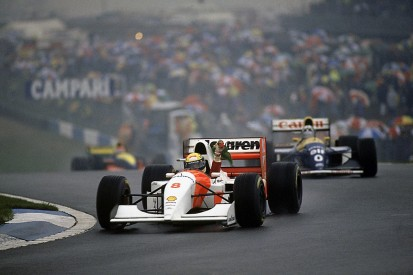 Ayrton Senna's epic 1993 Donington Park F1 win to be celebrated
