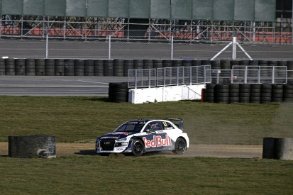Silverstone World Rallycross testing: Ekstrom and EKS Audi on top