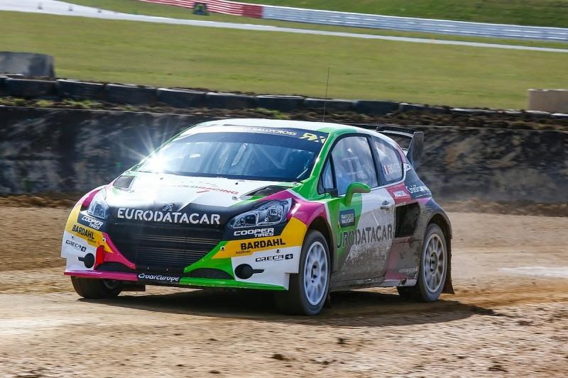 Sebastien Loeb's World Rallycross team pleased with Peugeot's debut