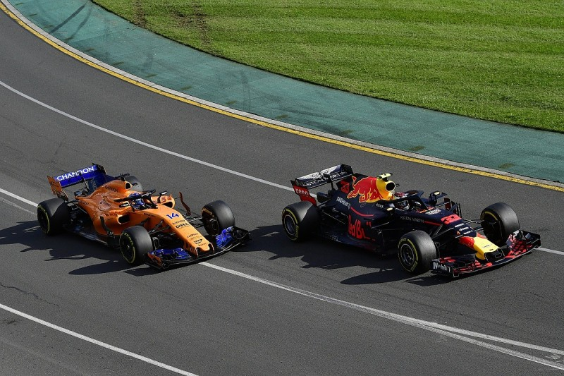 Fernando Alonso: McLaren can forget F1 midfield and look to Red Bull