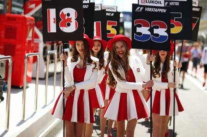 Russian Grand Prix in talks with F1 to allow grid girls in 2018