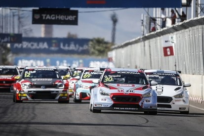 WTCR Marrakech: Tarquini denies Bjork to head Hyundai one-two
