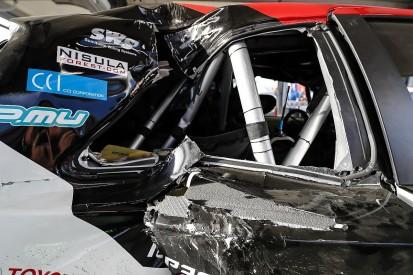WRC Corsica: Latvala praises new foam protection after tree strike