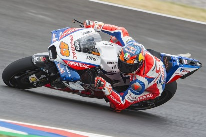 MotoGP Argentina: Miller takes shock first pole after slicks gamble