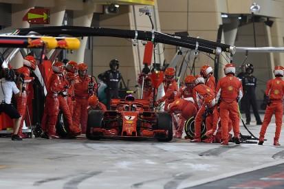 Ferrari F1 mechanic suffers broken leg in Kimi Raikkonen pit incident