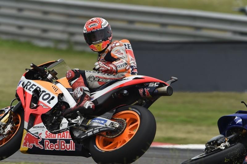 Ex-MotoGP riders slam Marc Marquez after Rossi Argentina clash