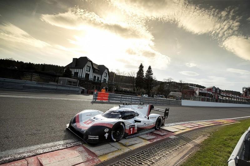 Modified title-winning Porsche WEC LMP1 car beats Spa F1 lap record