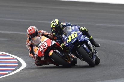 Rossi: Marquez's Argentina MotoGP clash apology attempt a PR 'joke'