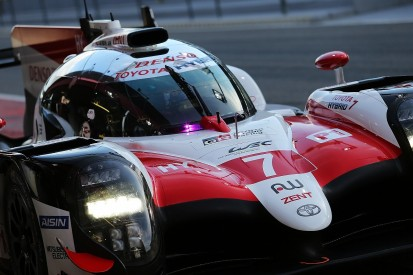 Toyota tests WEC car on three wheels to simulate Le Mans issues