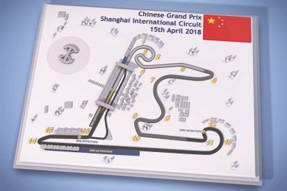 Video guide: Chinese Grand Prix's Shanghai Formula 1 circuit