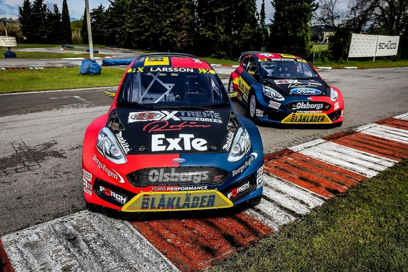 Olsberg reveals new World RX Fiesta STs ahead of Barcelona opener