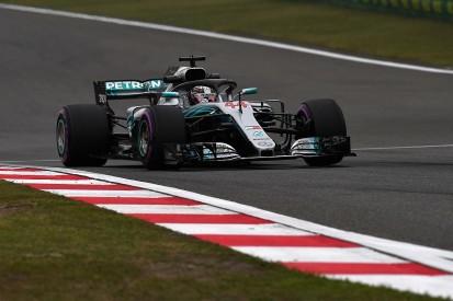 Chinese GP: Lewis Hamilton 0.007s faster than Kimi Raikkonen in FP2