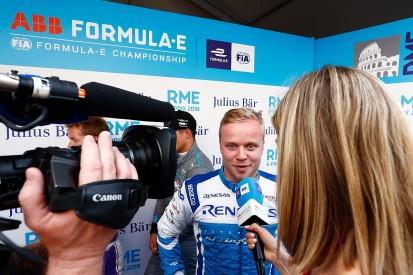 Rome Formula E: Felix Rosenqvist takes pole for Mahindra