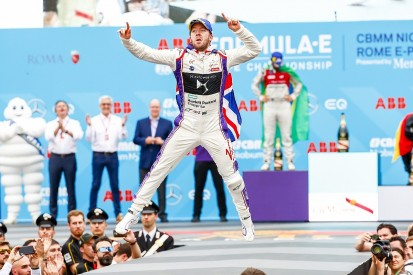 Formula E Rome: Bird wins as Rosenqvist retires after hitting curb