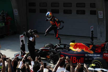 Chinese Grand Prix: Ricciardo wins, Verstappen and Vettel collide