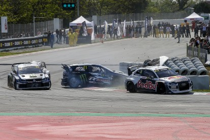 World RX Spain: Audi's Mattias Ekstrom excluded after Solberg clash