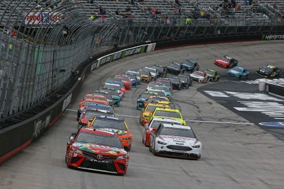 NASCAR Bristol: race reaches second stage but is postponed for rain