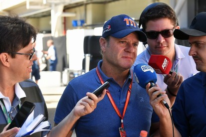 Ex-F1 racer Rubens Barrichello feels lucky to be alive after tumour