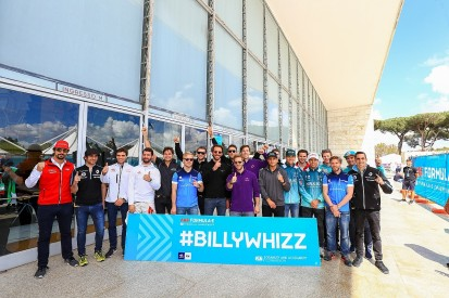 Billy Monger set for charity electric kart race organised by Vergne
