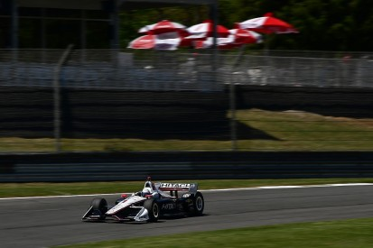 Barber IndyCar: Penske's Josef Newgarden leads Friday practice