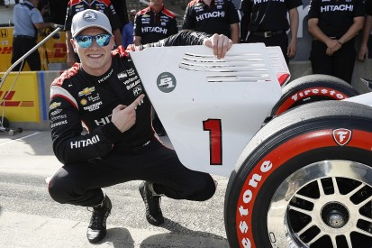 Barber IndyCar: Newgarden beats Penske team-mate Power to take pole