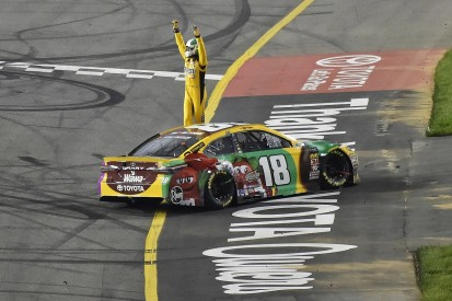 NASCAR Richmond: Kyle Busch matches Harvick's three wins in a row