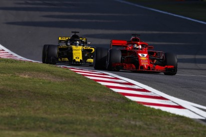 Renault 'disappointed' by gap to the top three Formula 1 teams