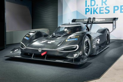 Volkswagen unveils all-electric Pikes Peak car, completes shakedown