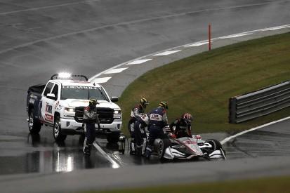 Will Power can't believe 'very dangerous' Barber IndyCar restart