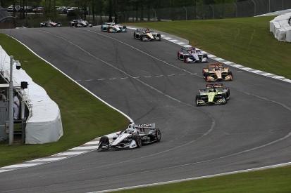 Barber IndyCar: Penske's Josef Newgarden wins after late rain drama