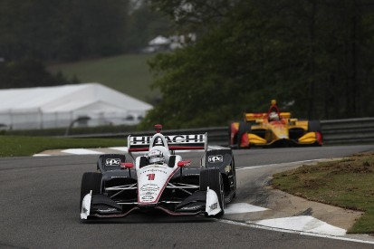 IndyCar Barber: Newgarden amazed by rivals' 'risky' gambles in wet