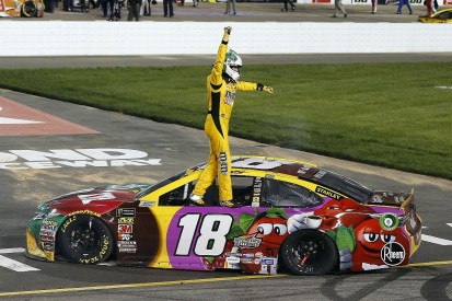 Busch hopes he hasn't peaked too early after third NASCAR win in row