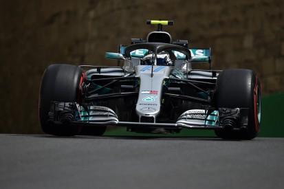 Baku F1 practice: Bottas fastest, Verstappen crashes in FP1