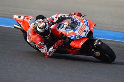 Jorge Lorenzo still 'not comfortable' on Ducati's 2018 MotoGP bike