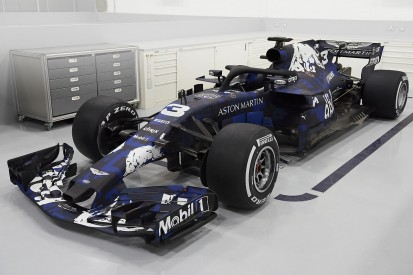 Red Bull F1 launch: 2018 RB14 revealed in temporary livery