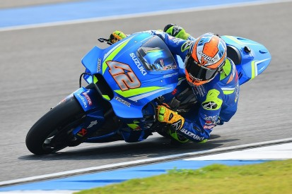 New 2018 Suzuki '100 times better' than previous MotoGP bike - Rins