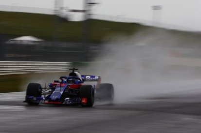 Toro Rosso reveals first image of Honda-powered 2018 F1 car in action