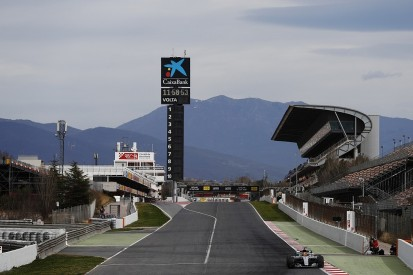 F1 winter testing: Barcelona track changes add unknown elements