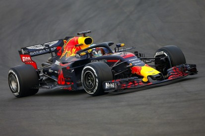F1 testing: Ricciardo and Red Bull lead, McLaren in early trouble