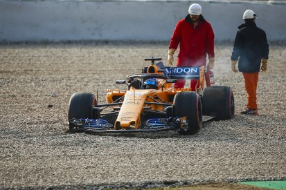 F1 testing 2018: Alonso says six teams had 'big trouble' on day one