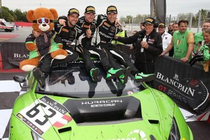 Grasser Lamborghini squad to defend Blancpain GT titles in 2018