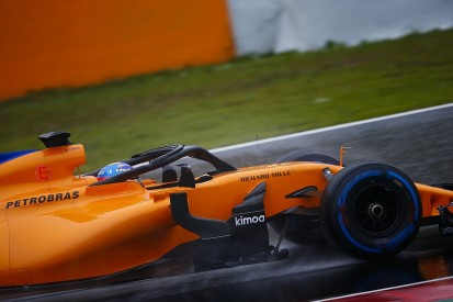 F1 testing: Fernando Alonso sets sole lap time of snow-wrecked day
