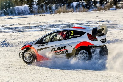Watch RallyX on Ice live from Norway featuring Helio Castroneves