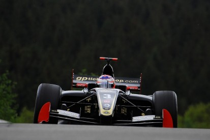 Lotus racer Rene Binder sets Friday Formula V8 3.5 pace at Spa