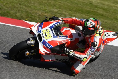 Ducati's Andrea Iannone stays on top in third Mugello practice
