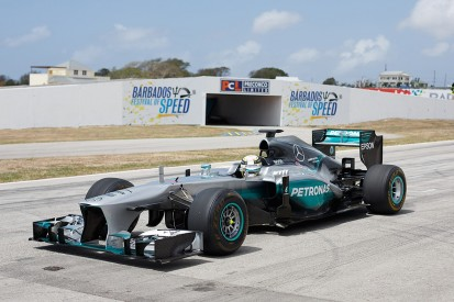 Interview: The man who brought Hamilton and Mercedes F1 to Barbados