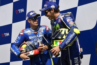 Lorenzo: 2017 MotoGP team-mates Rossi and Vinales are collaborating