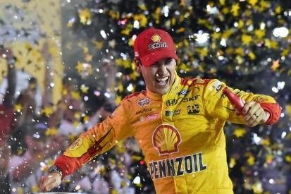 Joey Logano wins NASCAR All-Star race after Kyle Larson error