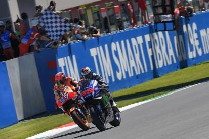 Mugello MotoGP: Lorenzo beats Marquez by 0.019s, Rossi retires