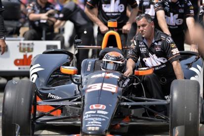 Foyt driver Alex Tagliani suffers Indianapolis 500 qualifying crash
